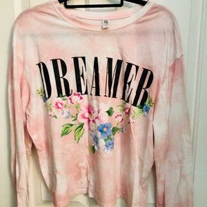 Dreamer tie dyed shirt
